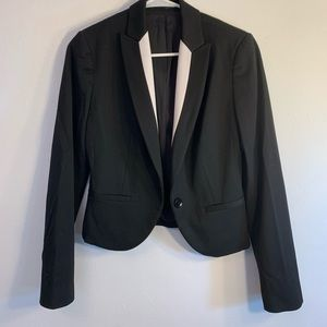 Express *Notch Collar One Button Blazer